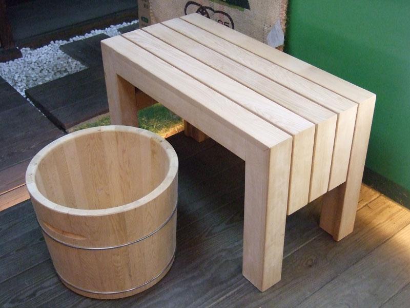 配合网友浴室之环境如果木桶规格尺寸需要变动时